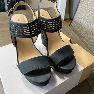 Black wedges Call it spring